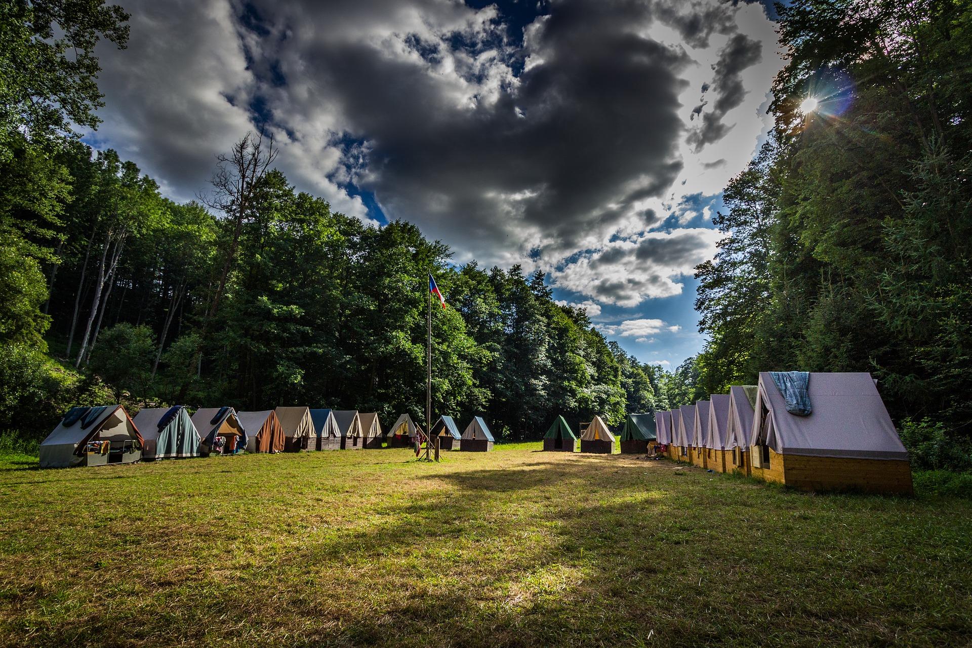 Portál kregistraci táborů